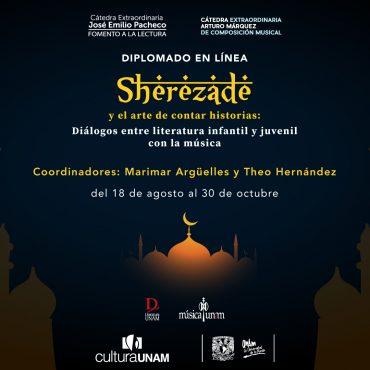 Diplomado en línea: Sherezade y el arte de contar historias