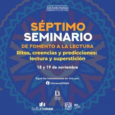 Séptimo Seminario Internacional de Fomento a la Lectura